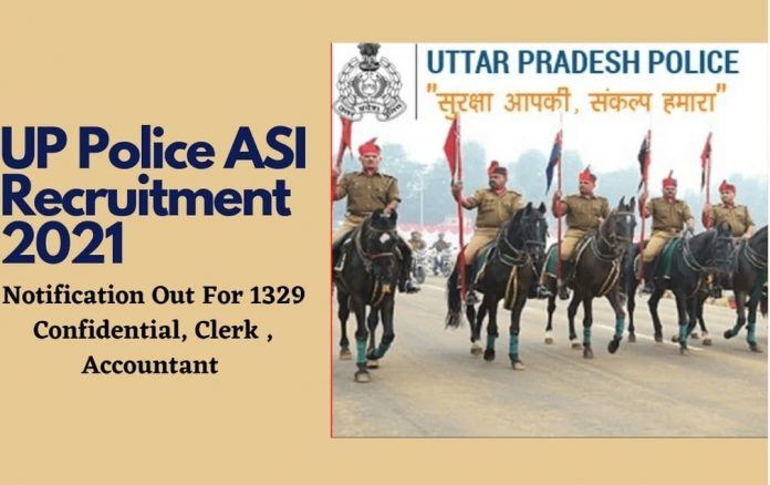 UP Police SI ASI Recruitment