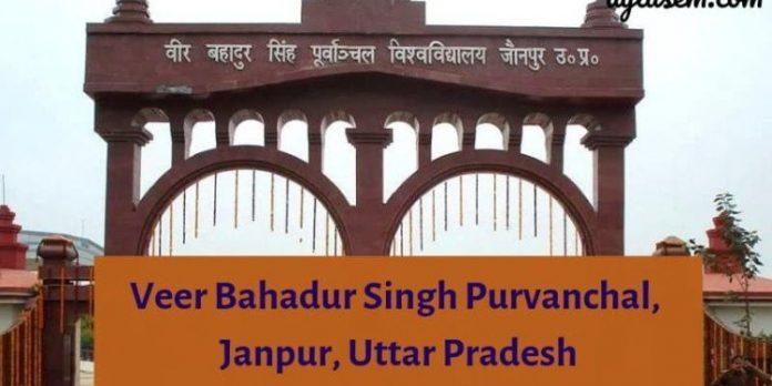 Purvanchal University VBSPU Recruitment